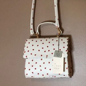 Detachable Heart Crossbody by A NEW DAY! NWT!